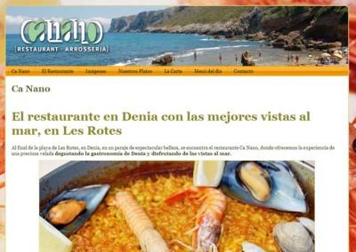 Restaurante Ca Nano – Denia