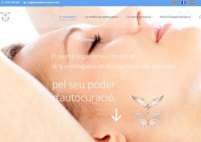 CONSULTA DE OSTEOPATÍA EN ANDORRA: PÁGINA WEB Y OPTIMIZACIÓN CON SEO