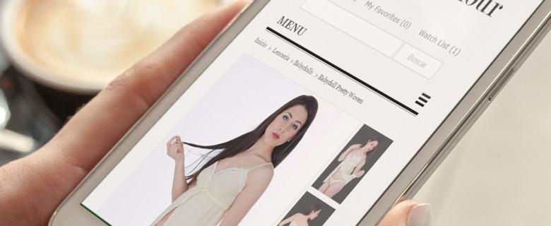 Divina Glamour: entorno social y comercial online