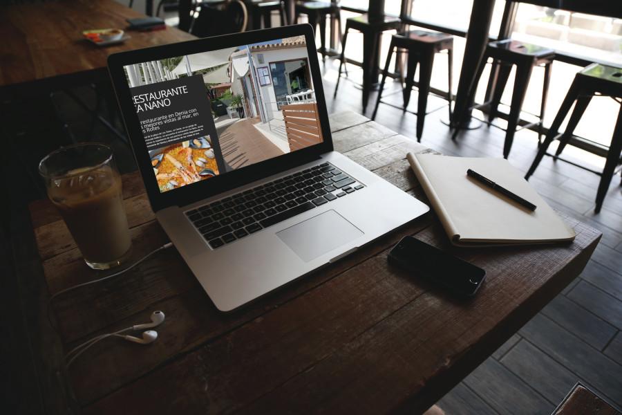 Restaurante Ca Nano – Página web y posicionamiento SEO