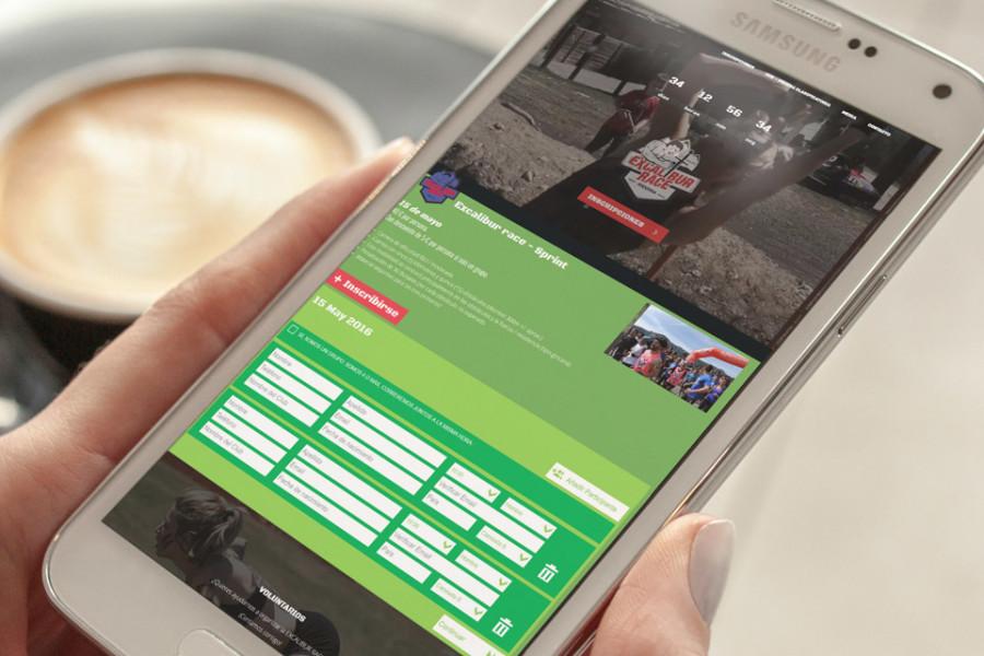 Excalibur Race, inscripción online a carreras y eventos