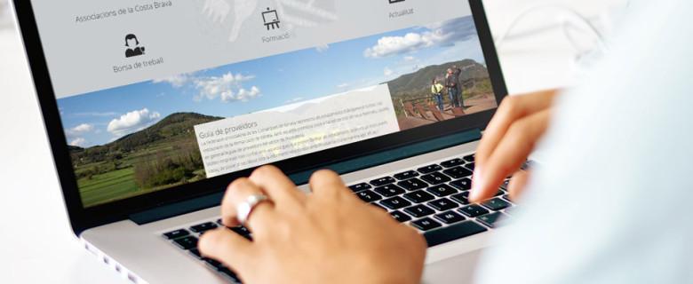 Página web Federación de Hostelería de Comarcas de Girona