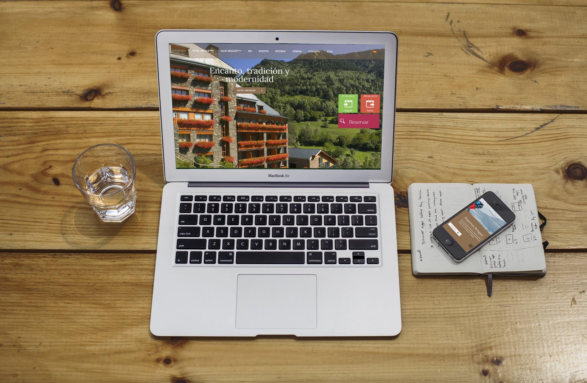 Hotels Bringué – Entorno online para hoteles