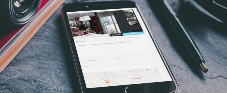 Inmobiliaria Inmaculada Rocafort Página web de inmobiliaria e integración con Habitat Soft