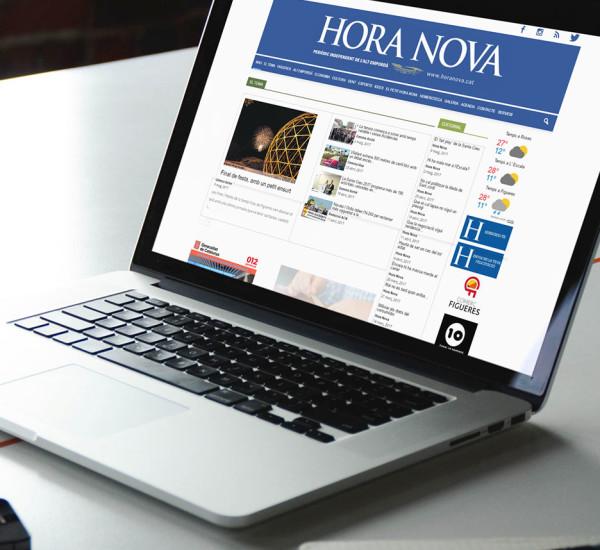 Periódico digital Hora Nova